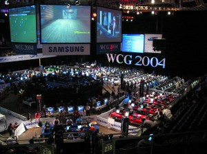 Bild der World Cyber Games 2004